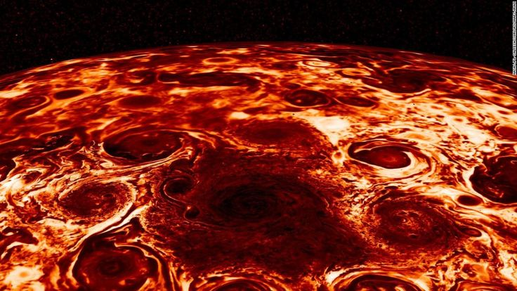 NASA spacecraft Juno has collected new data on its mission to Jupiter revealing some of the swirling inner mysteries of the giant gas-planet.