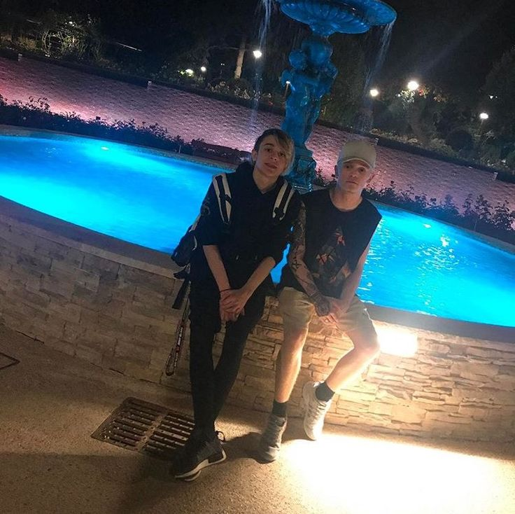 Leo and Charlie in Monaco