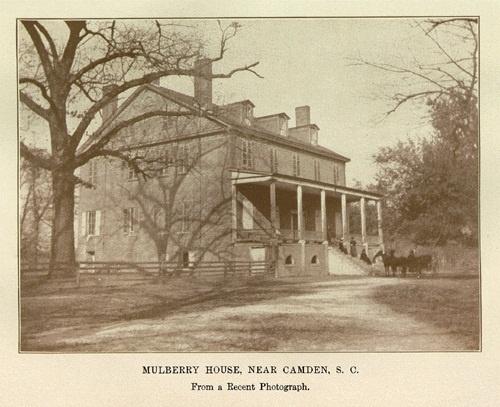 Mulberry House, Near Camden, SC