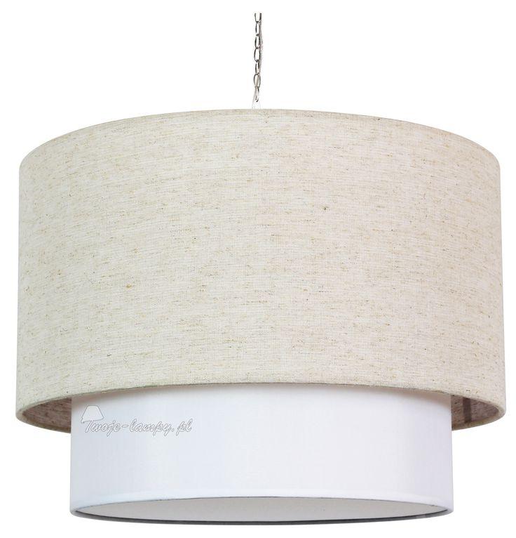 Candellux 31-26811 rumba zwis d-45 3x40w e14 beżowy - Z abażurami - Lampy wiszące - 💡 Sklep Twoje-lampy.pl