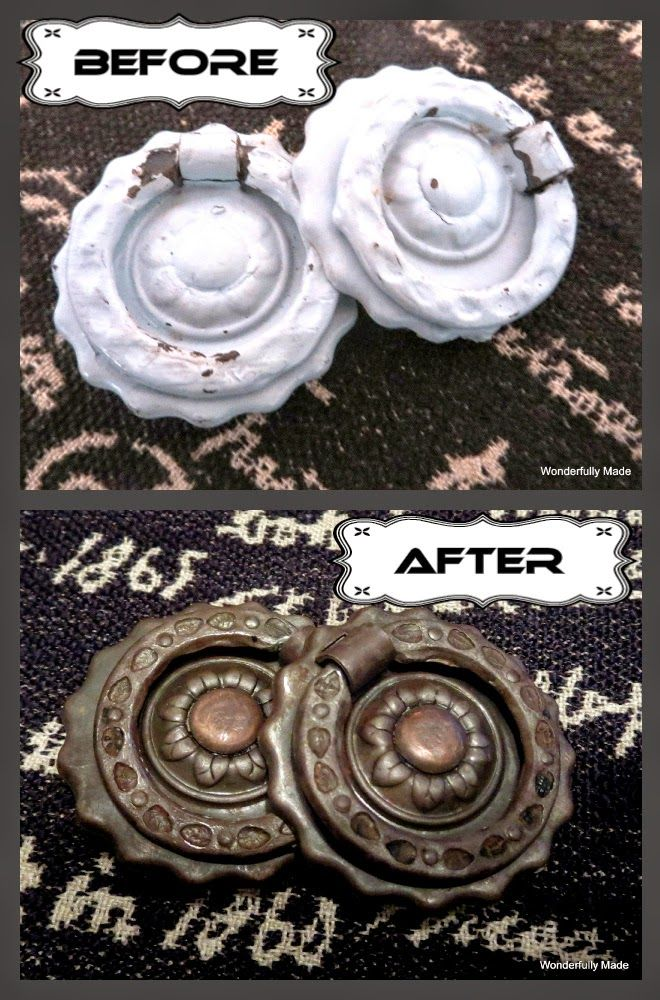 """""""Wonderfully Made"""": EASY Remove Paint From Hardware!"""