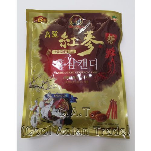 Korean Red Ginseng Candy Essence As The Main Material 200g Free Shipping #KoreanGinseng