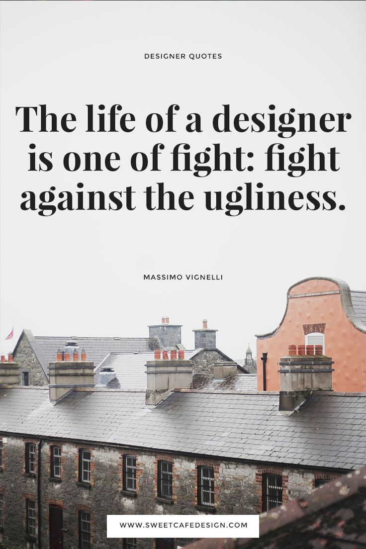 10 Quotes by Famous Architects and One philosopher - Interior Design, Render 3D, Brand Identity