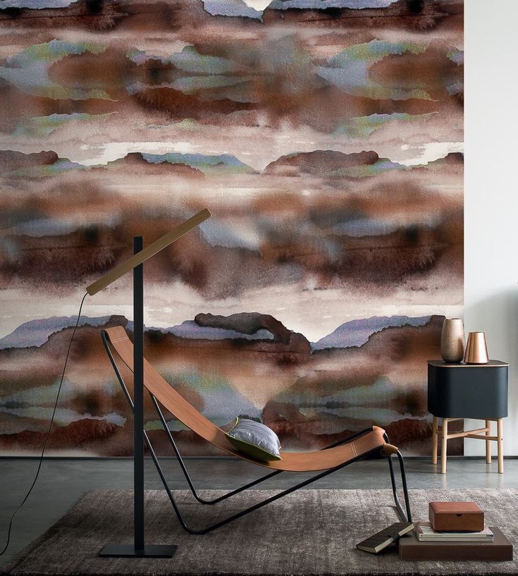@latorredecora http://latorredecoracion.com/casamance/ Iron Wallpaper by Casamance   Jane Clayton