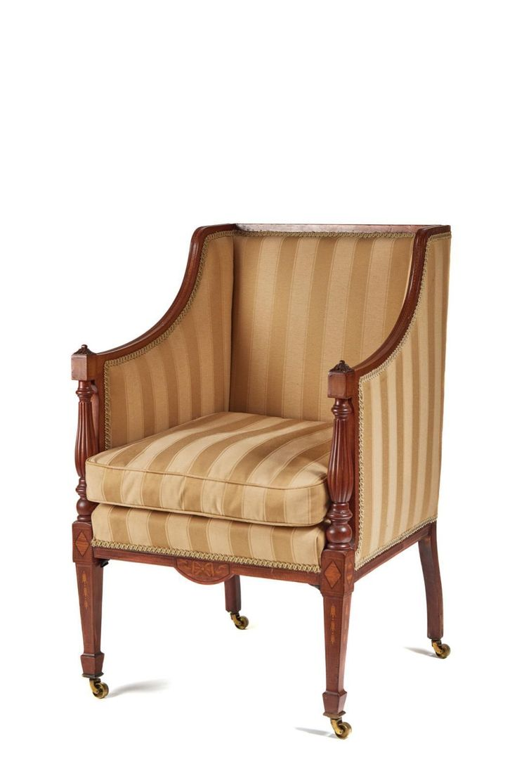 Fine Quality inlaid mahogany library chair - 68 Best Looking For Antiques Chairs Images On Pinterest Antique