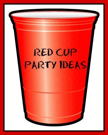 Have some red Solo cups? Let's have a party! Here are some fun ideas for hosting a red cup party.