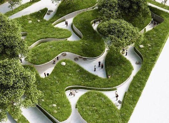 "Art & Architecture on Instagram: ""Chinese landsc…"