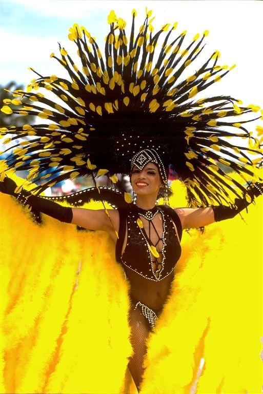 Aruba. Carnaval. Caribbean.
