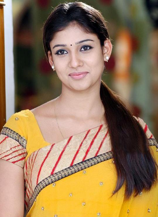 nayanthara sexy in yellow saree nayanthara nayanthara