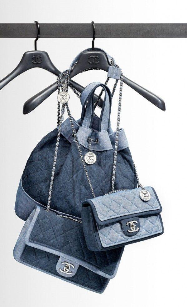 Chanel Denim Handbags