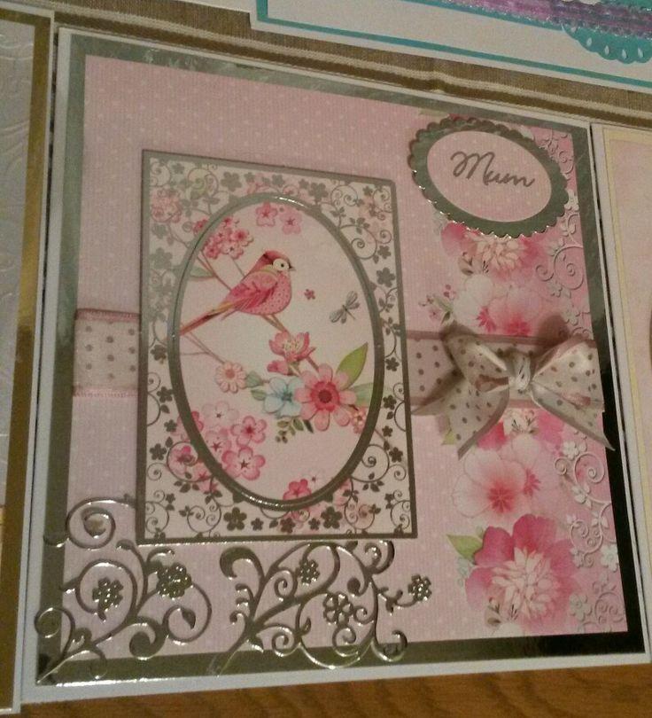Hunkydory mum birthday card