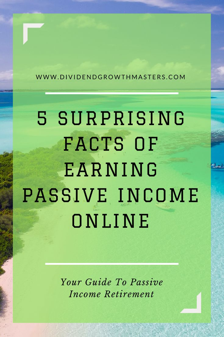 Do not start earning passive income online with yo…