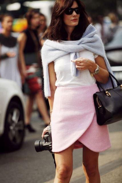tulipa falda rosa