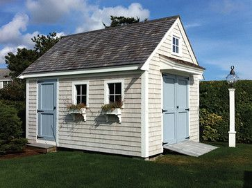 12' x 16' Cape Codder Boathouse - beach-style - Sheds - Boston - Walpole Outdoors