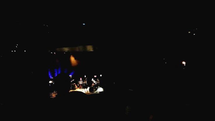 With Luísa Sobral at Teatro de Vila Real. Live video! Cam Record