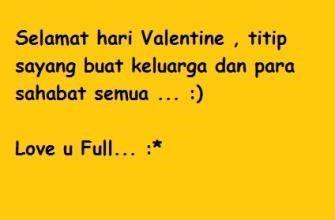 Inilah Kata Kata Cinta Di Hari Valentine Day Paling Romantis