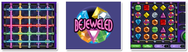 Play Bejeweled free at Gossip Bingo!