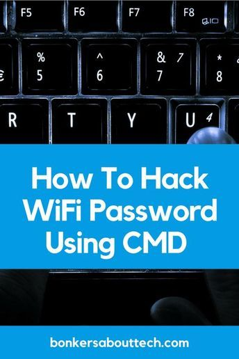 See how easy it is to hack a WiFi password using windows cmd (command prompt) in this step by step guide.