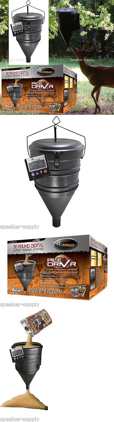 Game Feeders and Feed 52504: Wild Game Innovations Pile Driver Driv R Hanging Deer Game Feeder 30Lb Auger New -> BUY IT NOW ONLY: $100.65 on eBay!
