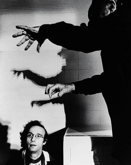 Federico Fellini e Roberto Benigni by @RivieradiRimini