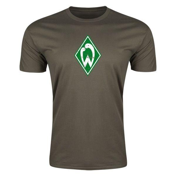 Werder Bremen Mens Fashion T-Shirt (Dark Green)