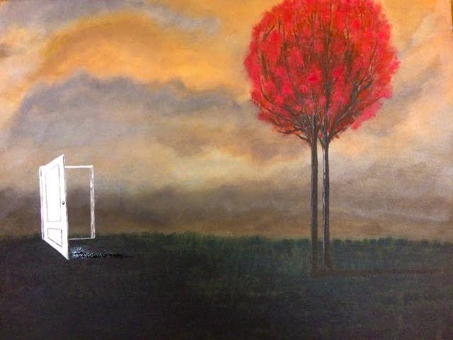 Alone art painting