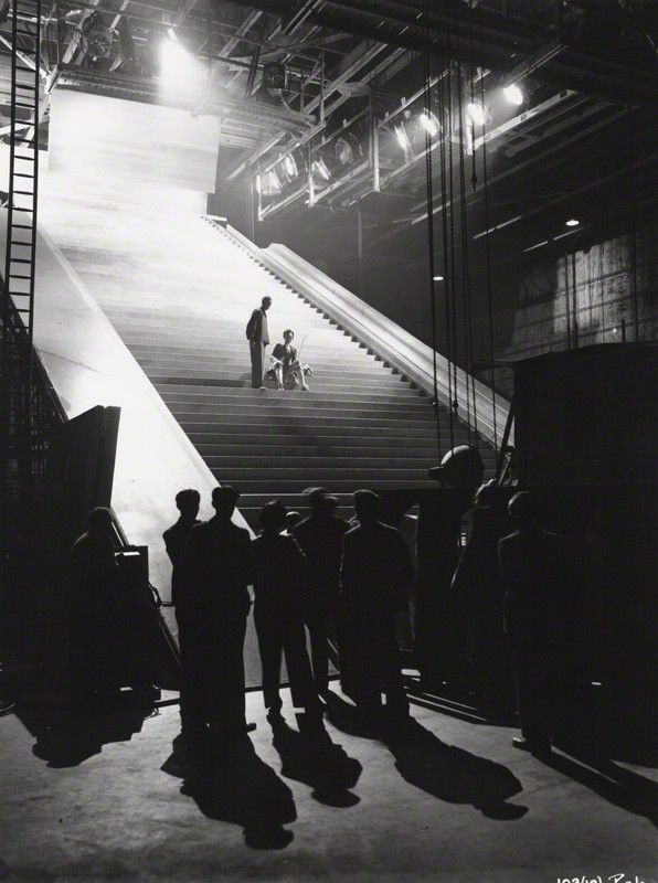 Amazing set on the Michael Powell, Emeric Pressburger production, A Matter of Life and Death (1946)