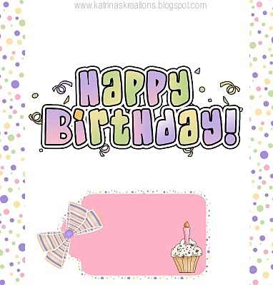 girl birthday candy bar wrapper-would be cute for YW