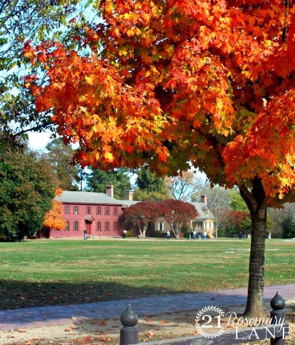 21 Rosemary Lane: Colorful Colonial Williamsburg Virginia