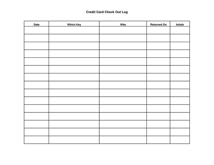 Key Sign Out Sheet Template   scope