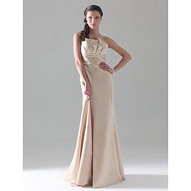 LIZ - Robe de Demoiselle d'Honneur Satin - CAD $ 86.09