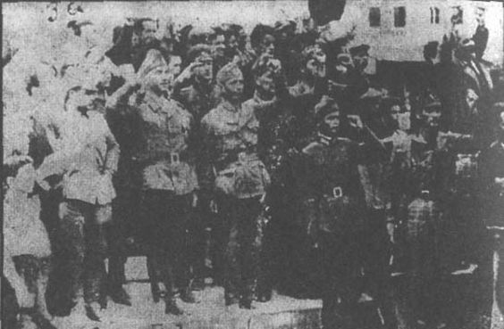 Dawn 14 / 09/1944 !!! The city of Serres is liberated from the Bulgarian occupation by Greek & allied forces