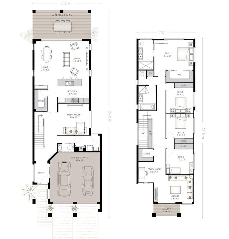 33 best reverse living house plans images on pinterest. Black Bedroom Furniture Sets. Home Design Ideas