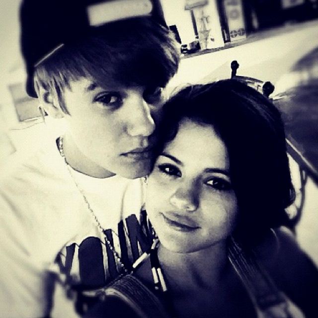 Let me just say how adorable they are together. Justin Bieber and Selena Gomez <3 #nerd #fan