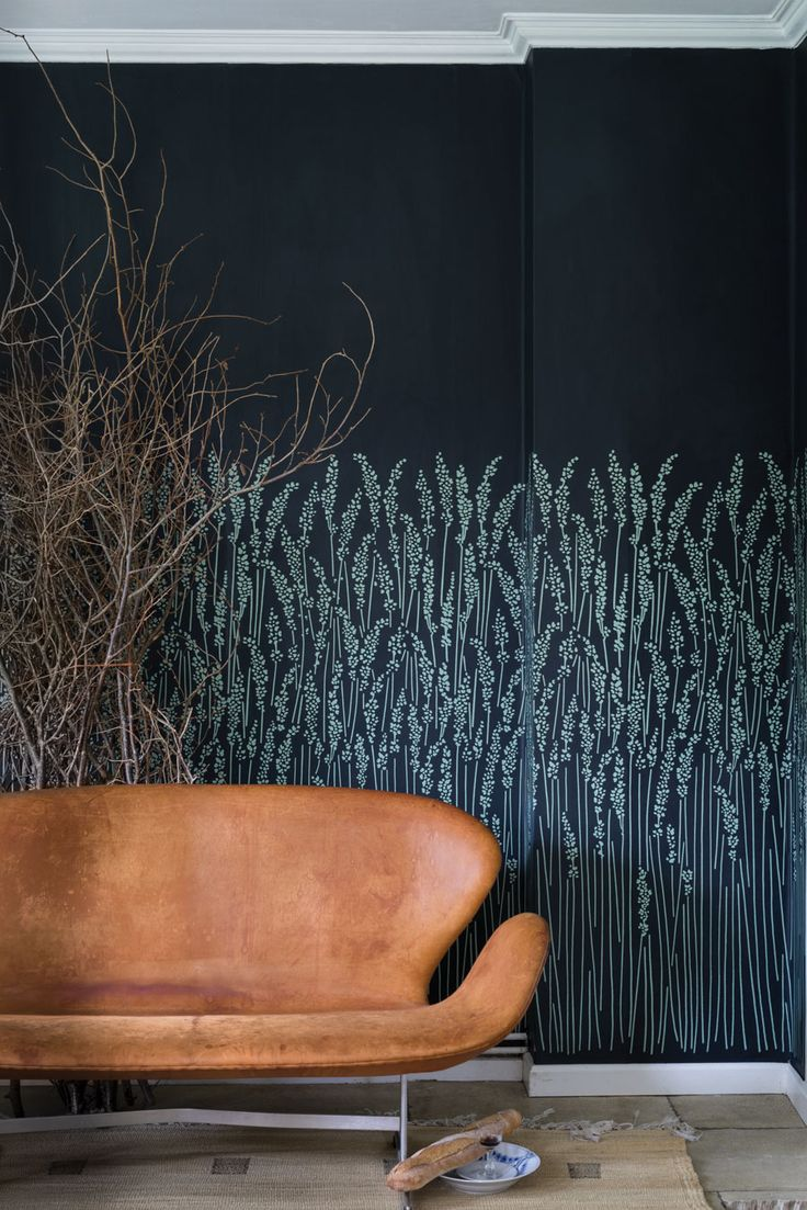 Feather Grass wallpaper by Farrow & Ball. Just stunning.