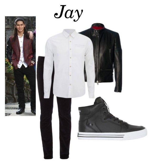 """""""Jay"""" by let-me-slytherin ❤ liked on Polyvore featuring Al Duca d'Aosta, Gucci, Scotch & Soda, Supra, Disney, men's fashion and menswear"""