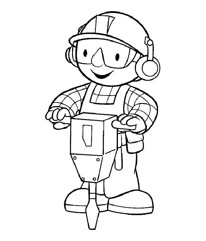 23 best Bob The Builder Coloring Pages images on Pinterest Bob