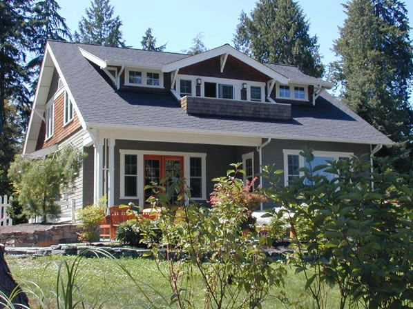 House Plans - Home Plan Details : Craftsman Bungalow