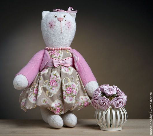 """Куклы и игрушки ручной работы. Ярмарка Мастеров - ручная работа. Купить Набор для шитья """"Кошка Матильда"""" Модное Хобби. Handmade."""