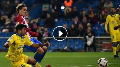 Video: Atletico Madrid vs Las Palmas Highlights and Goals, Copa Del Rey - January 10, 2017 You are watching football / soccer highlights of Copa Del R...
