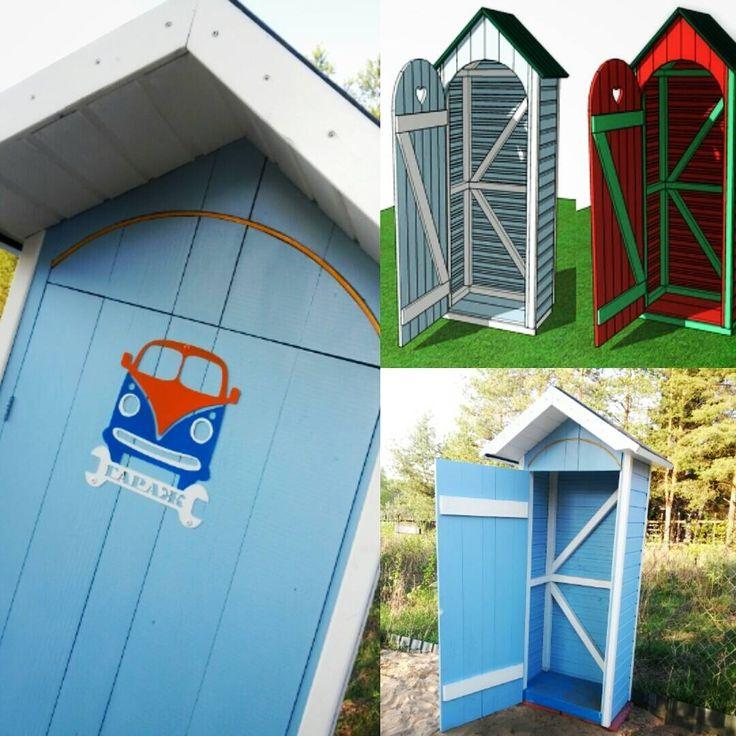 У детишек на даче наконец-то домик для уличных игрушек #sketchup #ивановское #сделайсам #diy