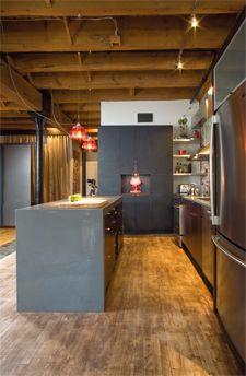 Cuisine noir moderne / black modern kitchen