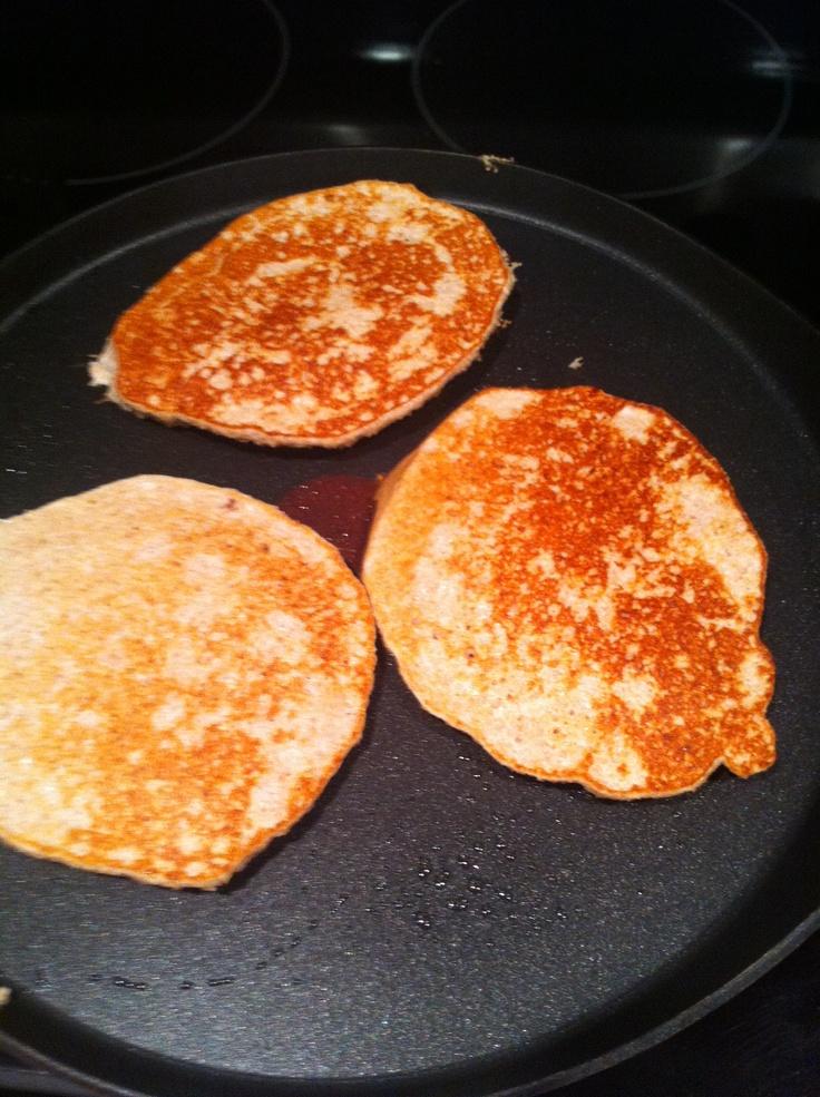 Oat bran pancake
