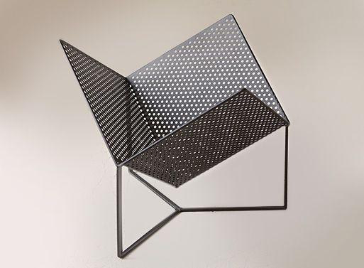 Half Cube Vinyl Rack — ACCESSORIES -- Better Living Through Design