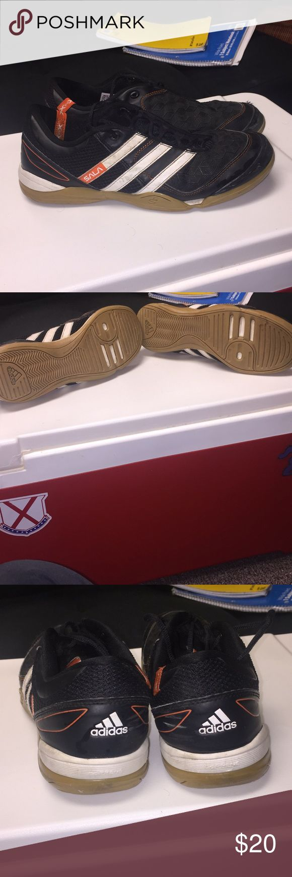 Adidas sala indoor soccer shoes Good condition. 8/10 adidas Shoes Athletic Shoes
