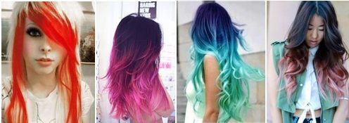 Anilina para tingir cabelo!