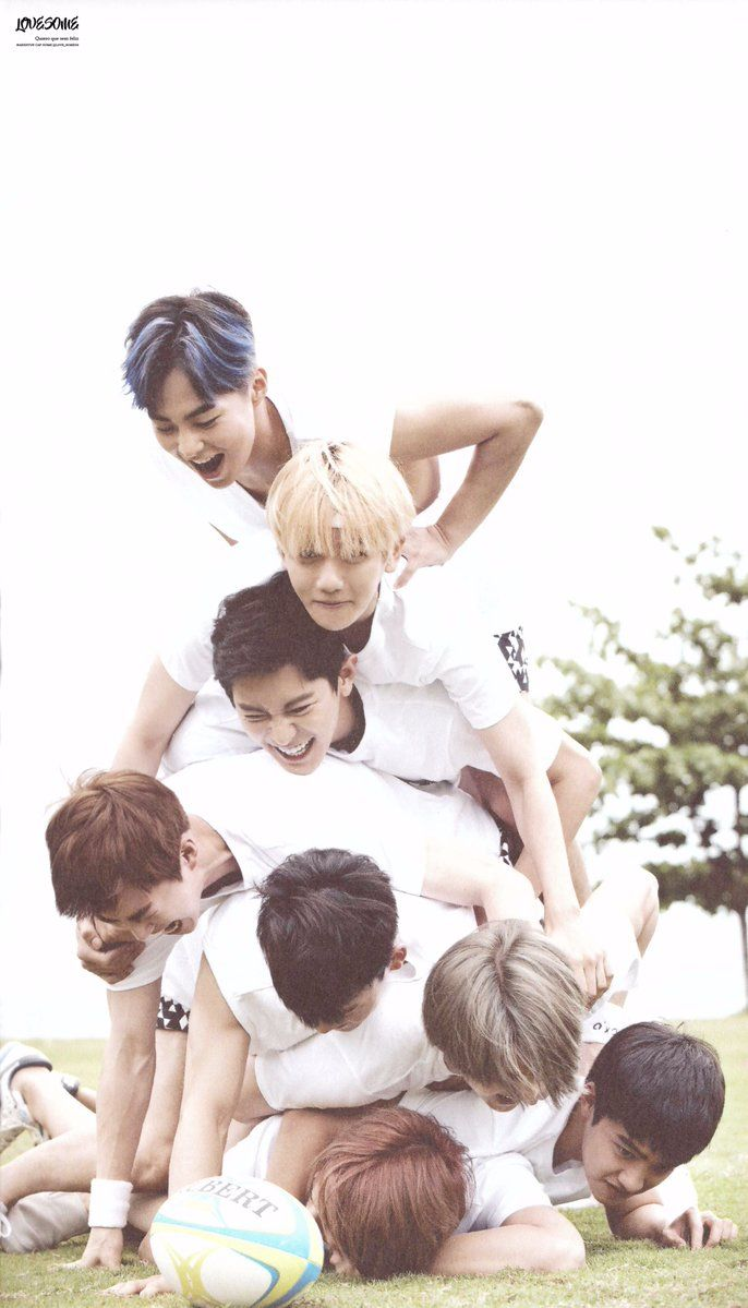 SCAN #EXO Dear Happiness #Photobook