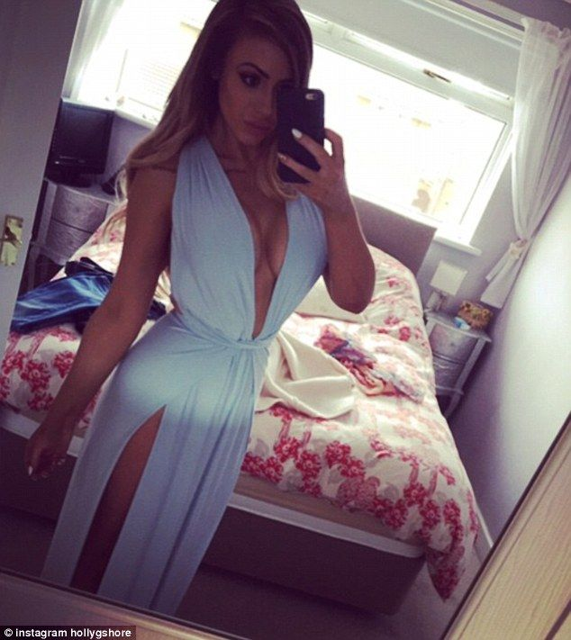 That's one way to do it: Holly posted a series of revealing images to her Instagram accoun...