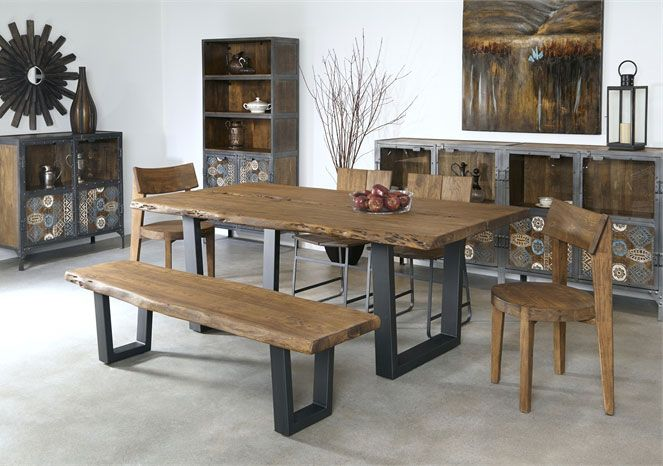 New To The Derby Showroom This Live Edge Beauty Features A U
