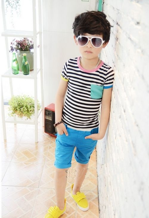 stripes for boys.  <3 it
